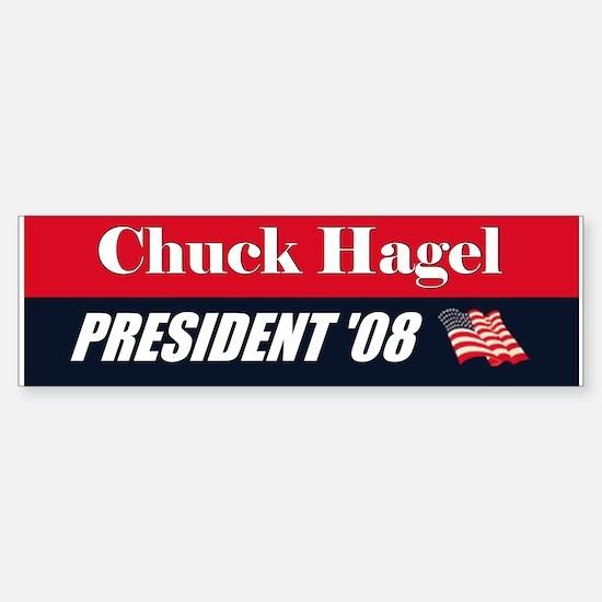 Chuck Hagel 2008 President Bumper Bumper Bumper Sticker