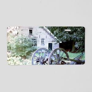 Countryside Barn Aluminum License Plate