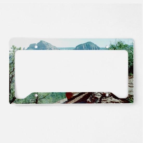 Red Rocks of Sedona License Plate Holder