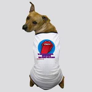 tongue_tee Dog T-Shirt