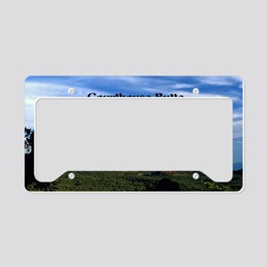 Courthouse Butte and Bell Roc License Plate Holder