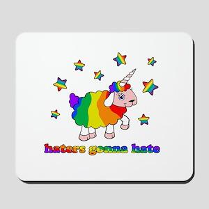 Unicorn sheep Mousepad