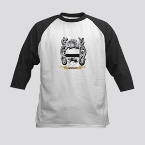 Jordon Coat of Arms - Family Crest Baseball Jersey