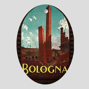 Trematore Bologna Italy1 Oval Ornament