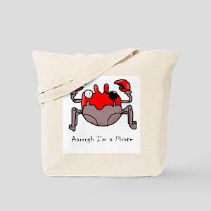 Pirate Crab Tote Bag