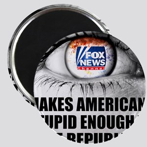 Fox News Makes American Stupid Enough to Vo Magnet