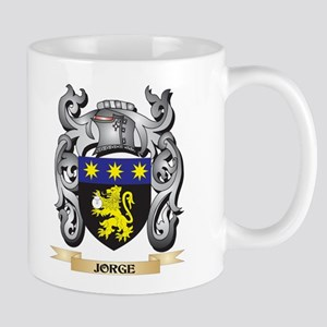 Jorge Coat of Arms - Family Crest Mugs