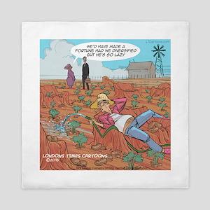 Couch Potato Farmer Queen Duvet