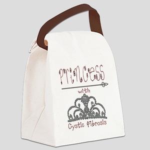 Cystic Fibrosis Princess Canvas Lunch Bag
