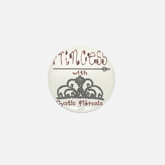 Cystic Fibrosis Princess Mini Button