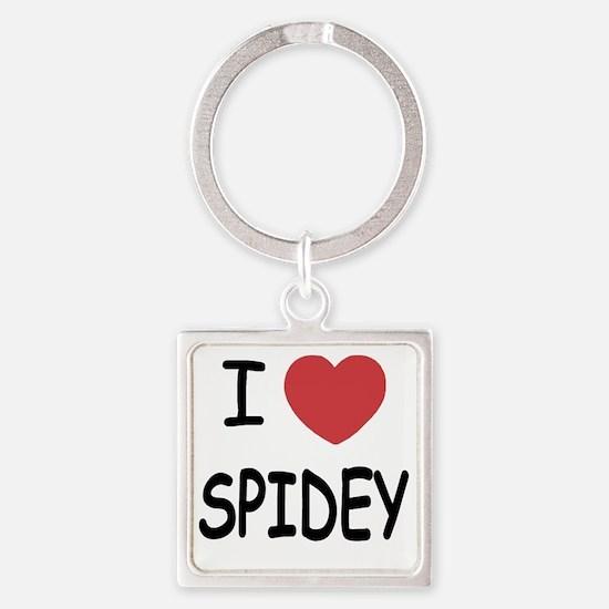 SPIDEY Square Keychain