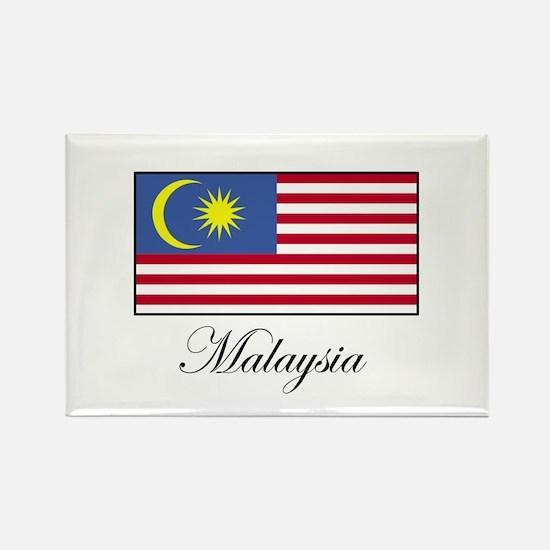 Malaysia - Malaysian Flag Rectangle Magnet