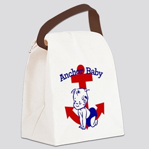 Anchor Baby Canvas Lunch Bag