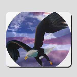 freedom eagle round 2 Mousepad