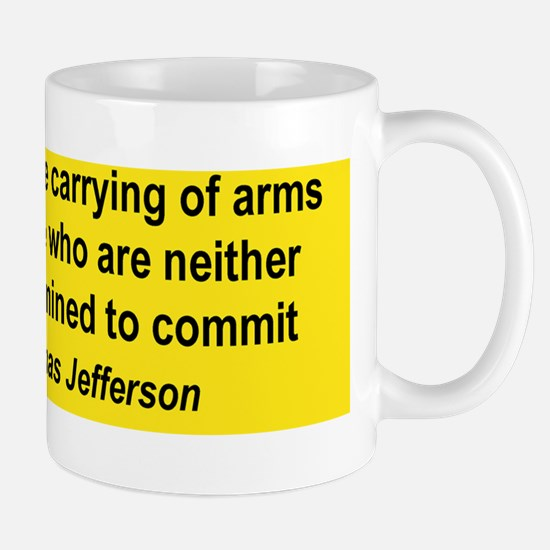 LAWS THAT FORBID THE CARRYING OF ARMS.. Mug