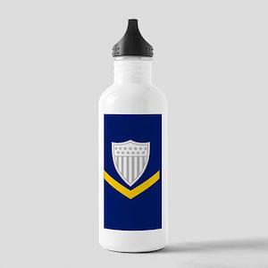 USCG-Rank-PO3-Mousepad Stainless Water Bottle 1.0L