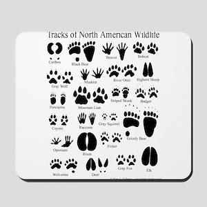Animal Tracks Guide Mousepad