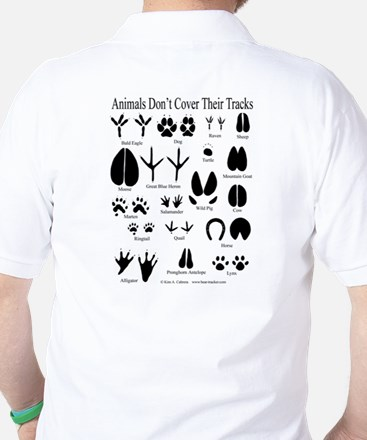 Animal Tracks Guide Golf Shirt