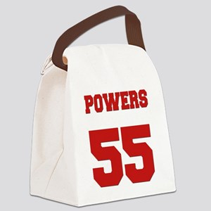 powers-back Canvas Lunch Bag