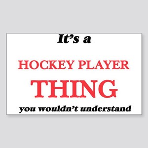 It's and Hockey Player thing, you woul Sticker