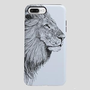 Lion (Black and White) iPhone 7 Plus Tough Case