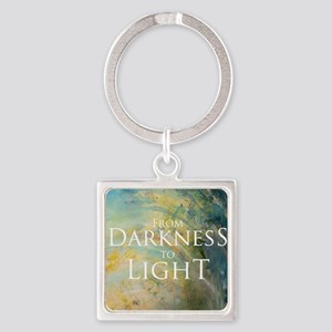 PSTR-from darkness to light Square Keychain