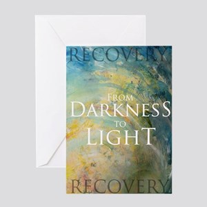PSTR-from darkness to light Greeting Card