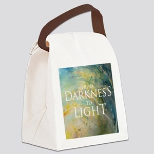 PSTR-from darkness to light Canvas Lunch Bag
