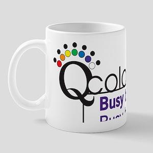 Busy Being Q Mug