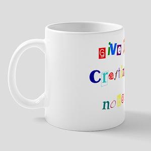 craft ransom Mug
