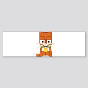 Cute Kitty Cat Ginger - Super cute Bumper Sticker