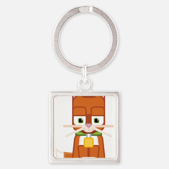 Cute Kitty Cat Ginger - Super cute anima Keychains