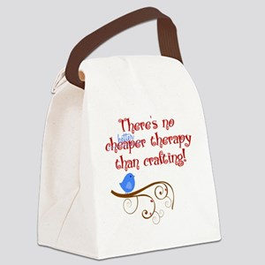 craft-therapy Canvas Lunch Bag