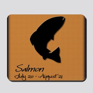 salmon_10x10_colour Mousepad