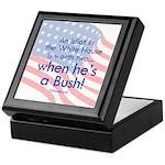Idiot in the White House Keepsake Box