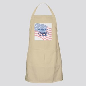 Idiot in the White House BBQ Apron