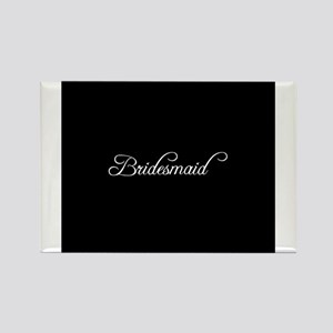 Bridesmaid - Formal Rectangle Magnet
