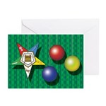 OES ornaments Greeting Cards (Pk of 10)