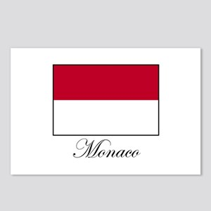 Monaco - Flag Postcards (Package of 8)
