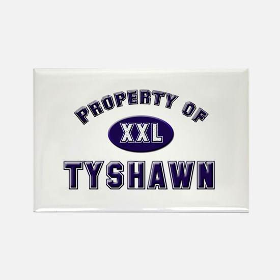 My heart belongs to tyshawn Rectangle Magnet