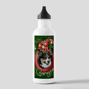 DeckHalls_Corgis Stainless Water Bottle 1.0L