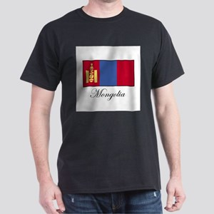 Mongolia - Flag Dark T-Shirt
