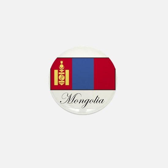 Mongolia - Flag Mini Button