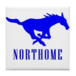 Northome Mustangs Tile Coaster