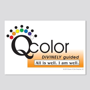 Qcolor Dvinely Well Postcards (Package of 8)