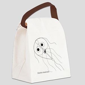 giardia Canvas Lunch Bag