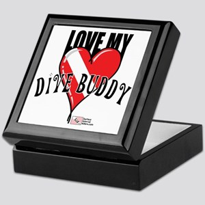 2-Love-My-Dive-Buddy Keepsake Box