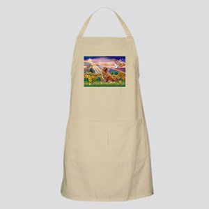 Autumn Angel & Nova Scotia BBQ Apron