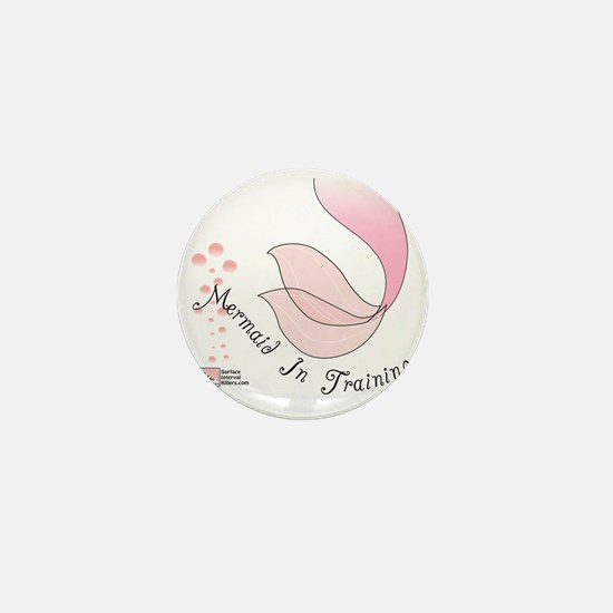 3-Mermaid Mini Button
