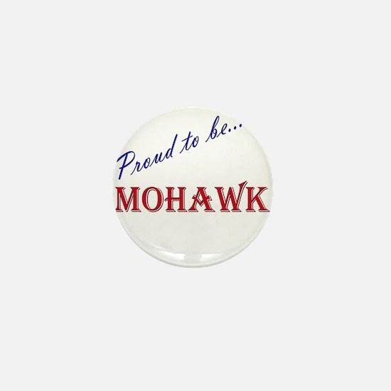 Mohawk Mini Button